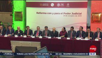 FOTO: Alistan Reformas Poder Judicial,