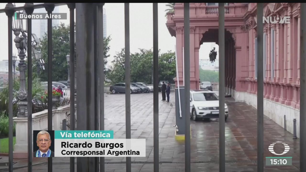 FOTO: Alistan transición presidencial en Argentina, 28 octubre 2019