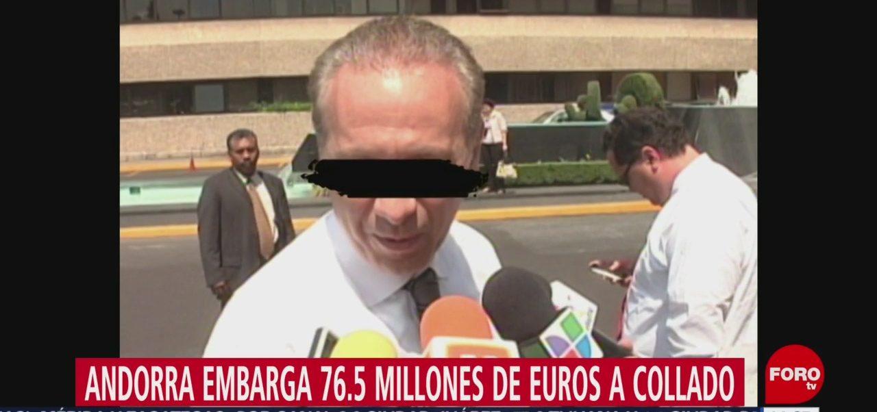 FOTO: Andorra embarga 76.5 millones euros Collado