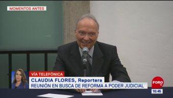 Arranca reunión para la reforma del Poder Judicial