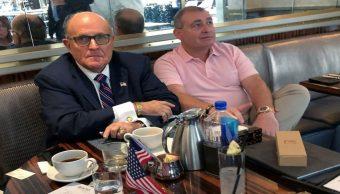 Foto Arrestan a dos extranjeros cercanos a Rudy Guliani
