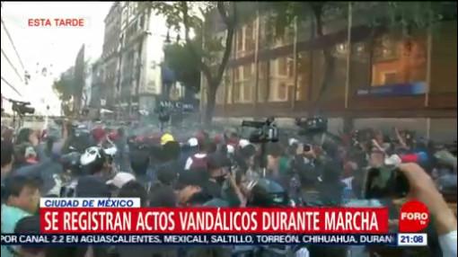 Foto: Crónica Marcha 2 Octubre 2019 CDMX Hoy 2 Octubre 2019