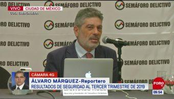Aumentan delitos en México, según 'Semáforo Delictivo'