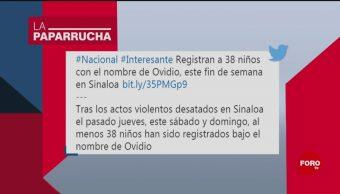 Foto: Bebés Ovidios Noticias Falsas 21 Octubre 2019
