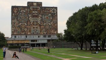 Foto: Biblioteca Central del campus de Ciudad Universitaria. 14 Octubre 2019