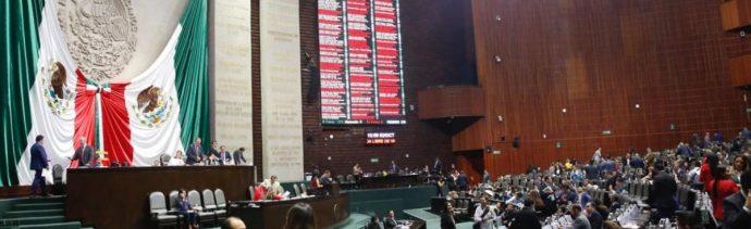 Sesión en la Cámara de Diputados.