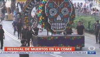 CDMX realiza Festival de Día de Muertos del 19 de octubre al 10 de noviembre