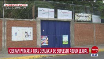 Cierran primaria tras denuncia de supuesto abuso sexual en Iztapalapa