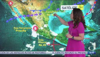 Clima al Aire: Frente frío 6 generará rachas de viento en el norte