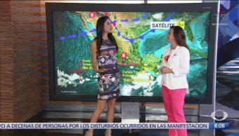 Clima Al Aire: Se forma depresión tropical 17-E frente a Chiapas