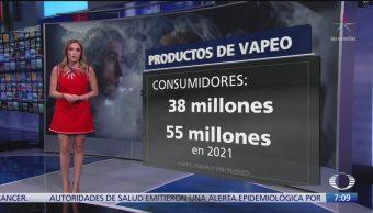 Cofepris no otorgará registros sanitarios a cigarrillos electrónicos