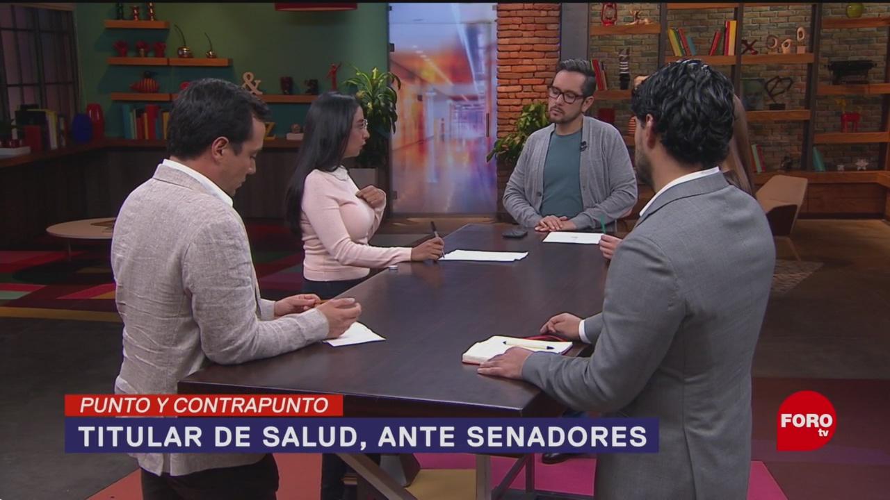 Foto: Secretario Salud Sergio Alcocer Comparece Senado 1 Octubre 2019