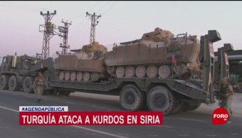 FOTO: Conflicto entre Turquía y los kurdos, 13 octubre 2019