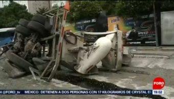 Foto: Choque Múltiple Santa Fe Hoy Accidente 8 Octubre 2019