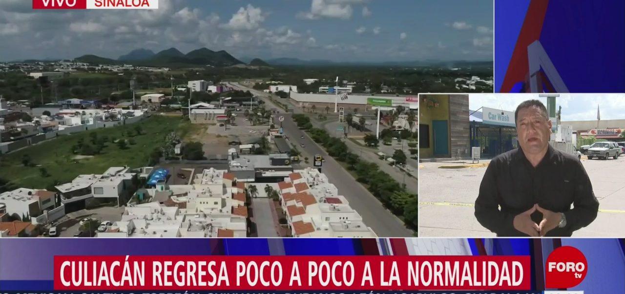 FOTO: Culiacán regresa poco poco normalidad tras enfrentamientos