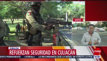 Foto: Culiacán Sinaloa Bajo Resguardo Fuerzas Federales 21 Octubre 2019