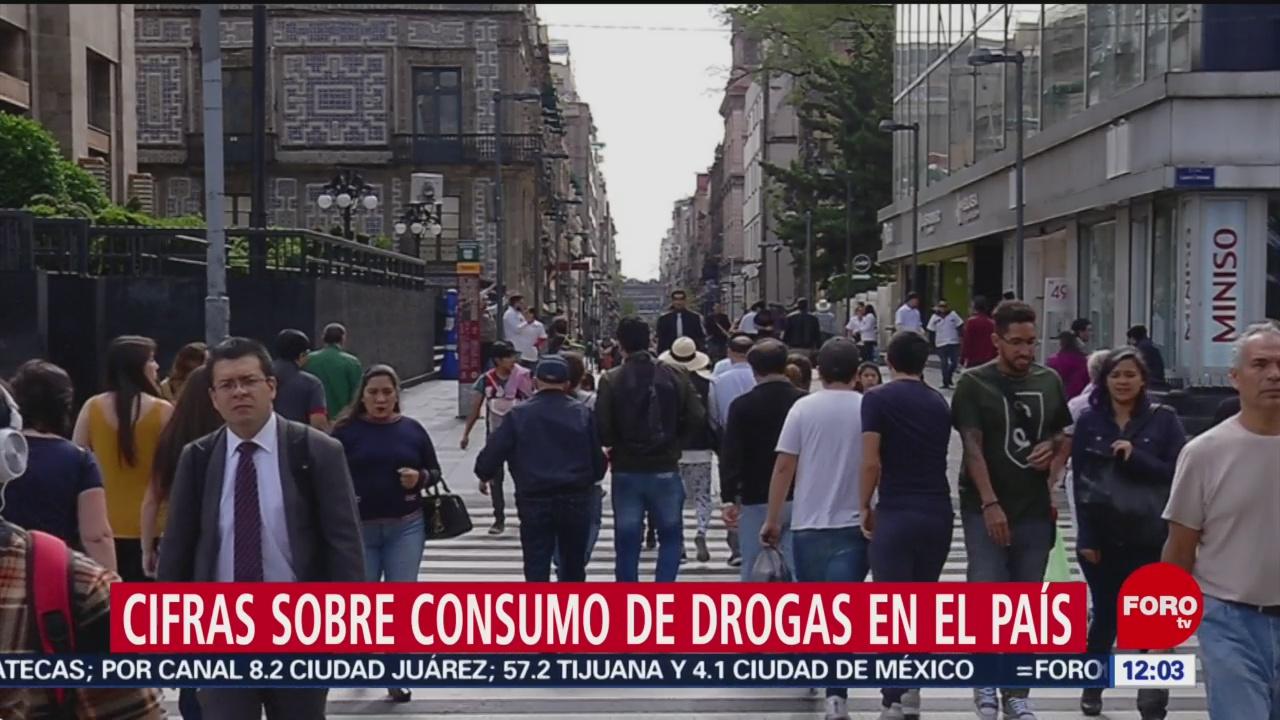 De 1998 a 2017, en México murieron casi 70 mil por consumo de drogas