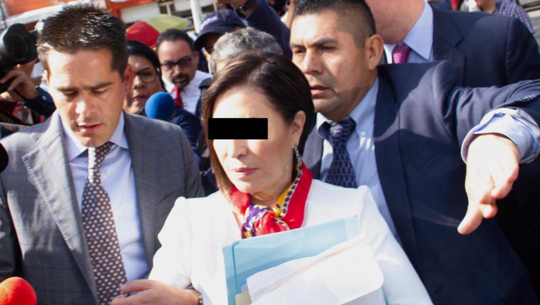 Foto: Rosario Robles, exsecretaria de Desarrollo Social. Cuartoscuro