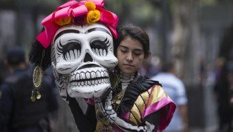 Foto Desfile Día Muertos 16 Octubre 2019