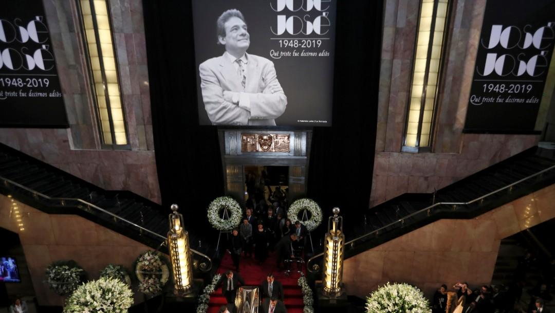 Foto: Despiden a José José en Bellas Artes, 9 de octubre de 2019, Ciudad de México