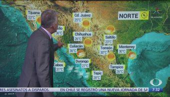 Despierta con Tiempo: Clima seco por alta presión en el norte