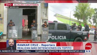 FOTO: Detienen otra persona durante operativo Tepito