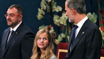 Foto: La heredera de 13 años del trono español, Leonor de Borbón y Felipe IV, 18 de octubre de 2019, (EFE)