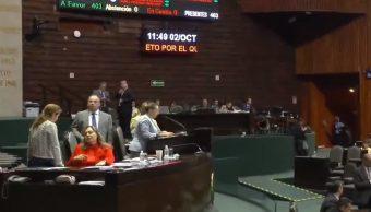 Diputados trabajaran un mes más en el Pleno