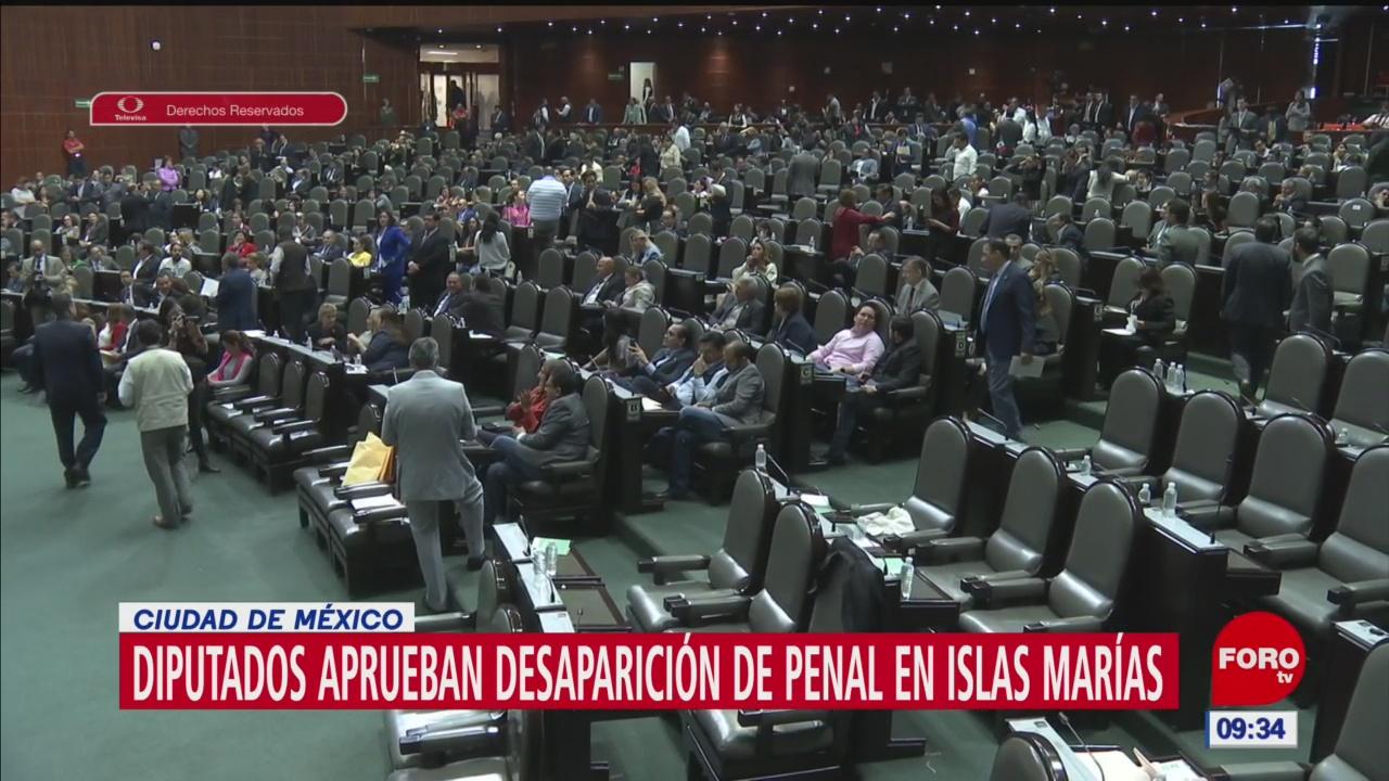 Diputados aprueban desaparición de penal en Islas Marías