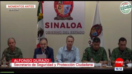 Durazo dice que México no recurrirá a masacres para lograr la paz