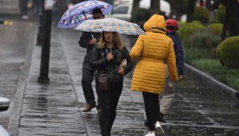 lluvia en mexico