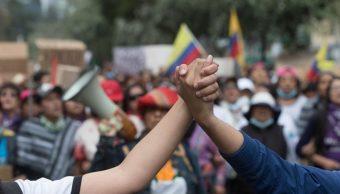 ONU: Primera reunión de diálogo entre Gobierno ecuatoriano e indígenas será este domingo