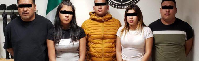 Foto: Parte de los secuestradores tienen entre 18 y 19 años de edad, 12 de octubre de 2019, (SSC)