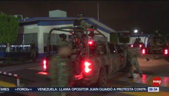 FOTO: Ejército cumple 36 horas reforzando la seguridad en Culiacán, 20 octubre 2019