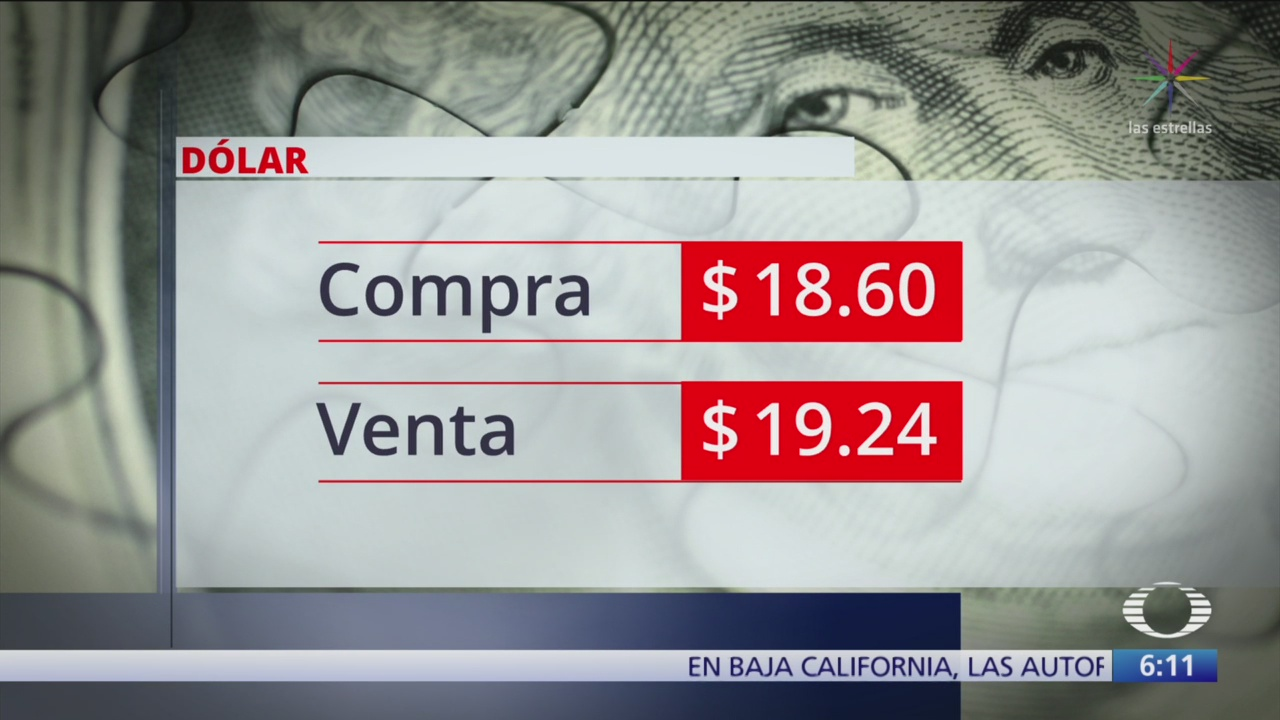 El dólar se vende en $19.24
