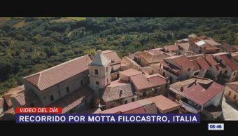 #ElVideodelDía: Recorrido por Motta Filocastro, Italia