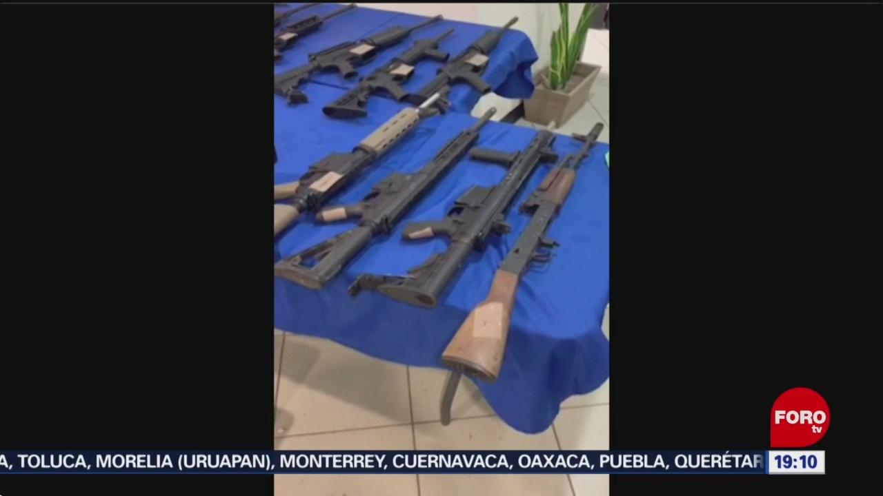 Foto: Arsenal Casa Abandonada Reynosa Tamaulipas 23 Octubre 2019