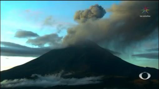 Foto: Espectacular Fumarola Popocatépetl Vista La Noria 10 Octubre 2019