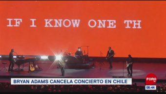 #EspectáculosenExpreso: Bryan Adams cancela concierto en Chile