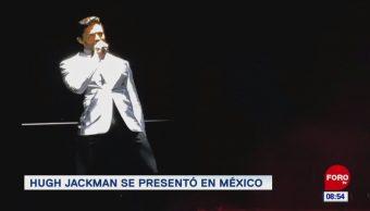 #EspectáculosenExpreso: Hugh Jackman se presentó en México