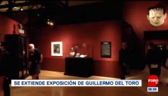 #EspectáculosenExpreso: Se extiende exposición de Guillermo del Toro