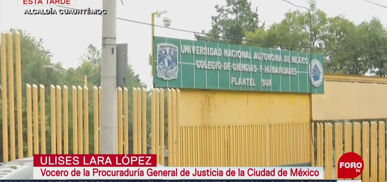 FOTO: Estudiantes Realizan Paro CCH Sur Por Presunta Violación