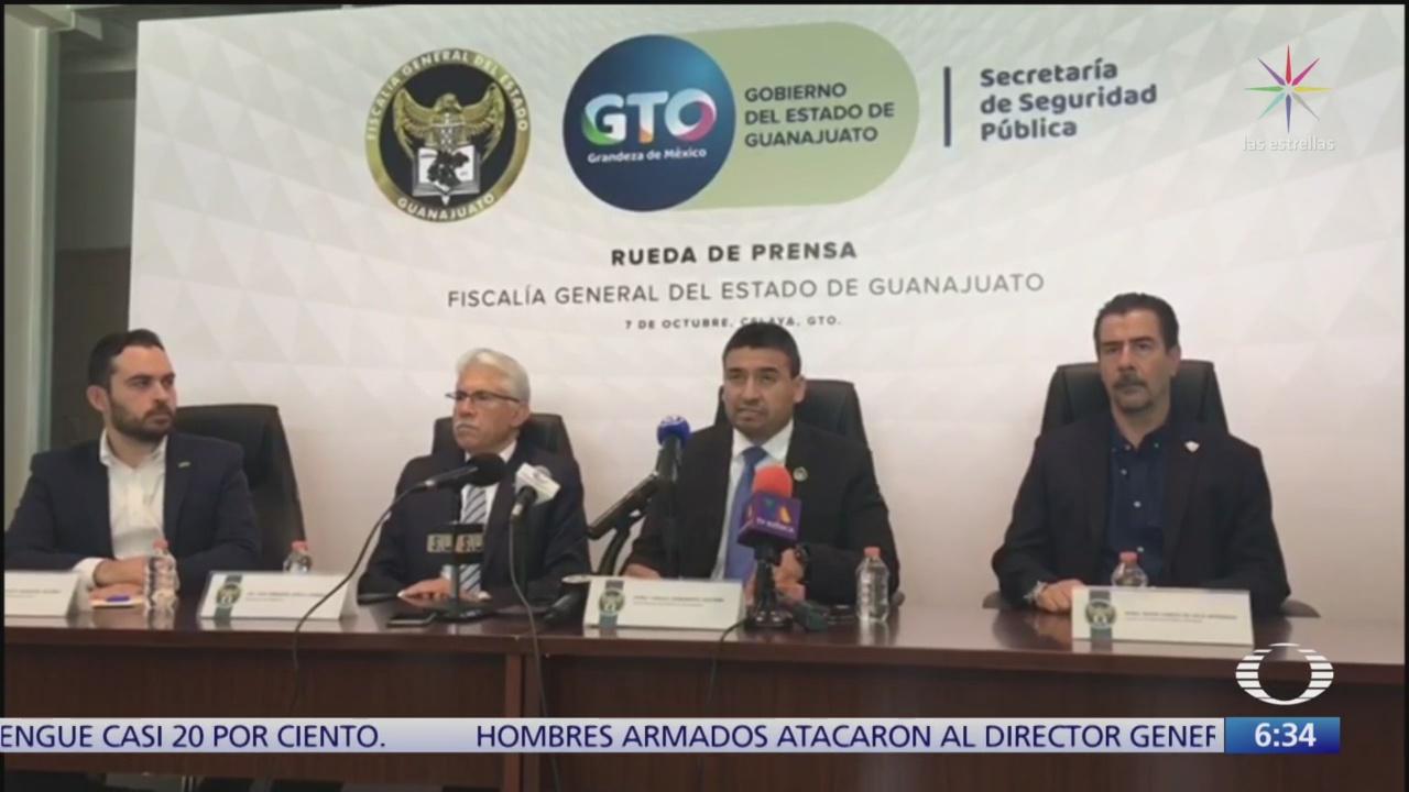 Fiscalía de Guanajuato detiene a policías municipales acusados de secuestro