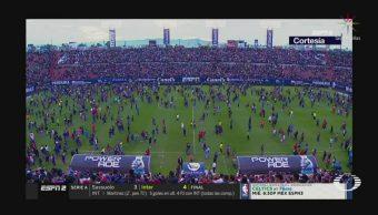 Foto: Fiscalía Slp Riña Estadio Alfonso Lastras 21 Octubre 2019