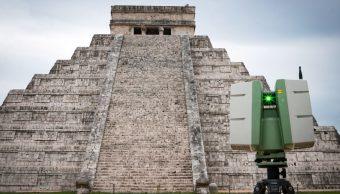 Foto: Imagen de la pirámide de Kukulcán en la ciudad de Chichén Itzá. Cuartoscuro