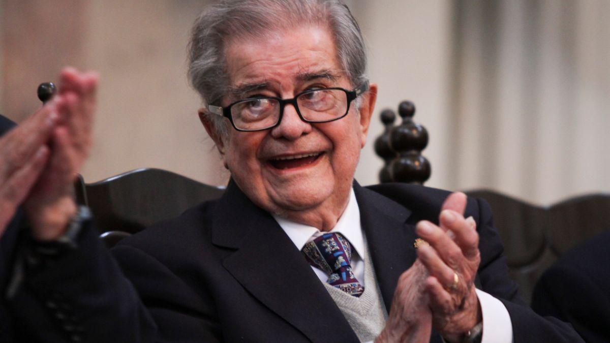 Foto: Miguel León-Portilla fue un filósofo e historiador mexicano. Cuartoscuro