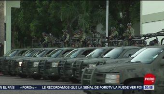 Foto: Fusileros Paracaidistas Apoyan Seguridad Culiacán 21 Octubre 2019