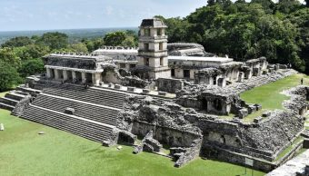 Foto: La cultura maya es conocida por su arquitectura, el calendario y su escritura jeroglífica compuesta por más de 700 signos, el 15 de octubre de 2019 (EFE)