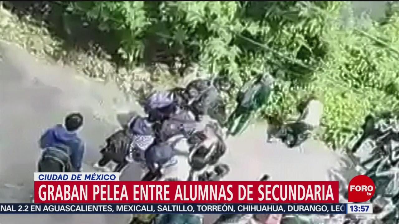 FOTO: Video Pelea Entre Dos Estudiantes Secundaria Nadie Interviene