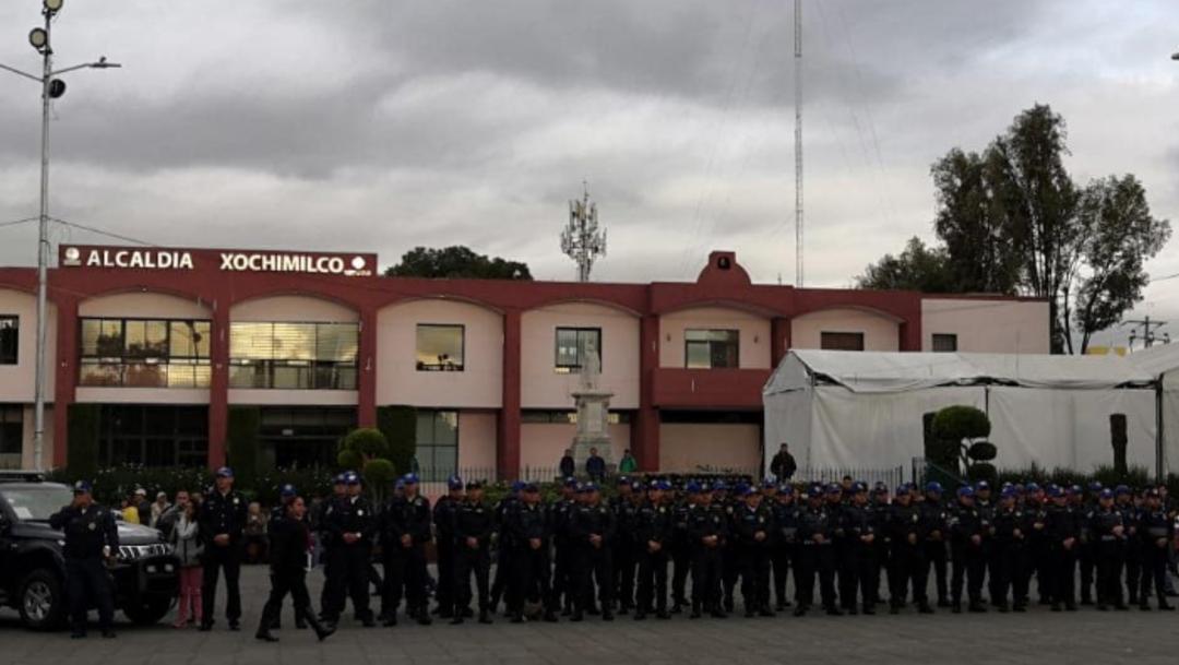 Foto: La comisionada para la Pacificación del Gobierno de México, Ruth Apolinar, dijo que seguirá trabajando de manera coordinada con el gobierno local para la disminución de los índices delictivos, 9 de octubre de 2019 (Twitter @XochimilcoAl)